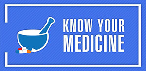 Know Your Medicine, an initiative of SIPTec to help understand the ingredients of medicine